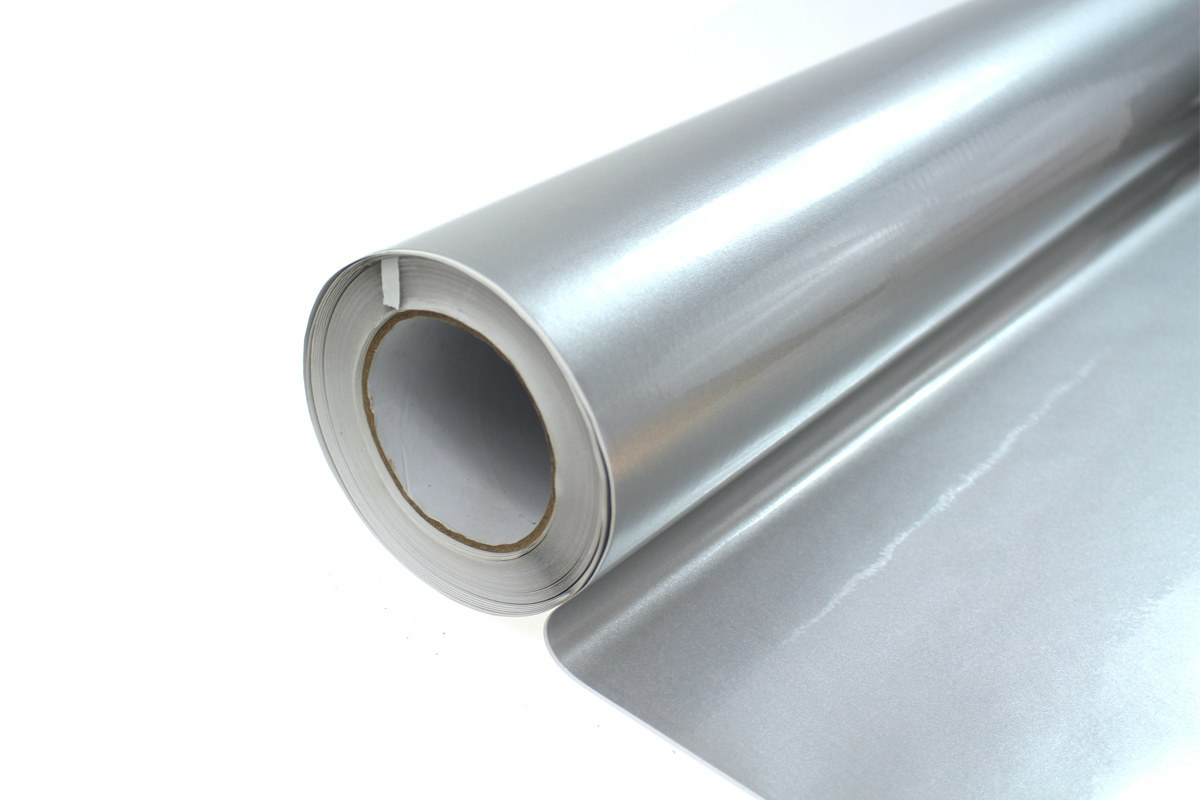 Folia Wrap Silver Metalic 1,52X20m - GRUBYGARAGE - Sklep Tuningowy